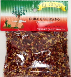 Picture of Chile Quebrado Crushed Chili Pepper 2 1/4 oz&nbsp;- Item No.&nbsp;44989-00239