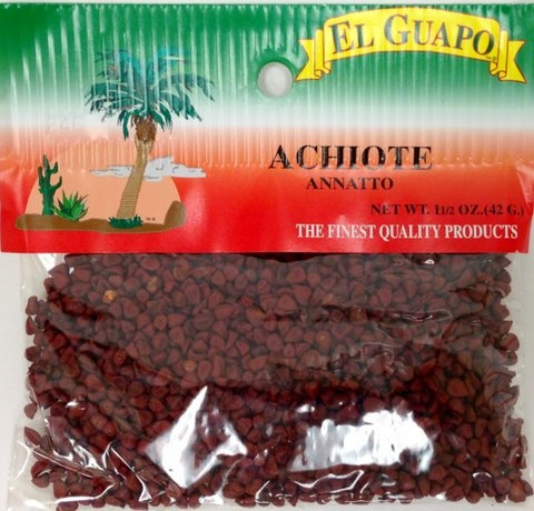 Picture of Achiote Entero Whole Annatto 1.5 oz - Item No. 44989-00446