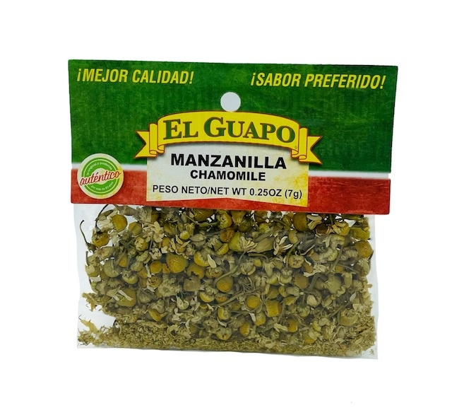 Picture of Manzanilla Chamomile Flowers 1/4 oz - Item No. 44989-00531
