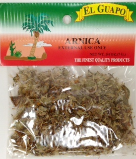 Picture of Arnica Flower External Use Only 1/4 oz - Item No. 44989-00546