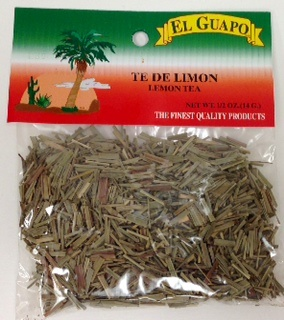 Picture of Te de Limon Lemon Grass Tea 1/2 oz&nbsp;- Item No.&nbsp;44989-00929