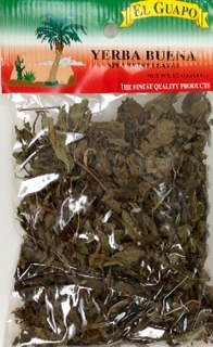 Picture of Yerba Buena Spearmint Leaves 1/2 oz - Item No. 44989-20192