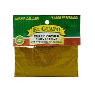 Picture of Curry Powder 3/4 oz - Item No. 44989-33016