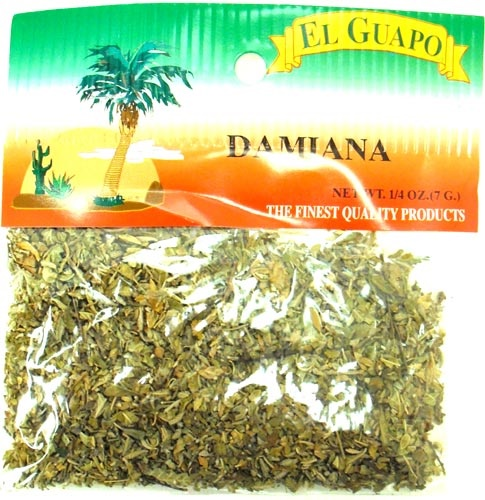 Picture of Damiana 1/4 oz&nbsp;- Item No.&nbsp;44989-33075