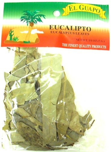 Picture of Eucalyptus Leaves - Hojas de Eucalipto 1/4 oz - Item No. 44989-33081