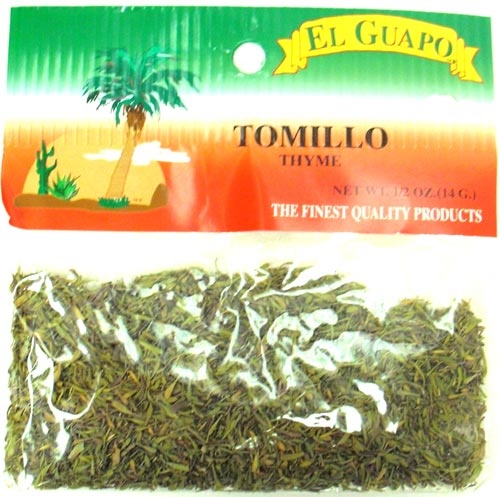 Picture of Thyme Leaves - Tomillo 0.5 oz - Item No. 44989-33116