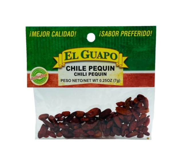 Picture of Dried Chile Pequin Chili Pods 3/8 oz - Item No. 44989-33166