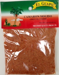 Picture of Ground Shrimp - Camaron Molido by El Guapo 2 1/4 oz - Item No. 44989-33190