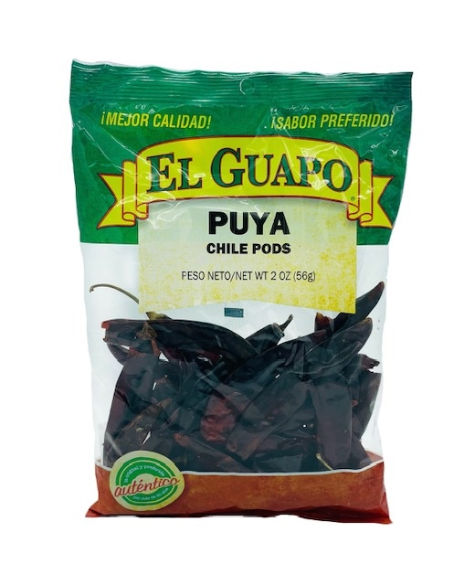 Picture of Dried Chile Puya Chili Pods 3 oz - Item No. 44989-33207