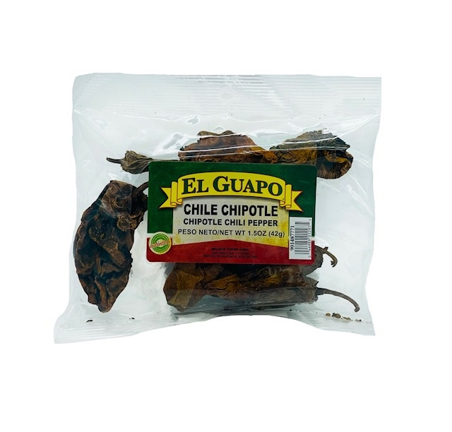 Picture of Dried Chile Chipotle Chili Pods 1.5 oz - Item No. 44989-33210