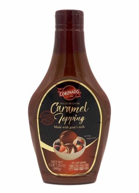 Picture of Cajeta Coronado Squeeze Bottle Traditional Flavor Quemada- Item No.4603