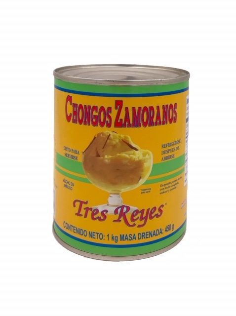 Picture of Chongos Zamoranos - Mexican Dessert by Tres Reyes 28 oz - Item No. 4604