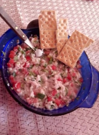 Picture of Ceviche - Mexican Recipe - Item No. 471-mexican-ceviche