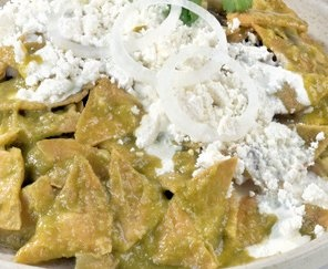 Picture of Green Chicken Chilaquiles Casserole Recipe- Item No.475-green-chicken-chilaquiles-casserole