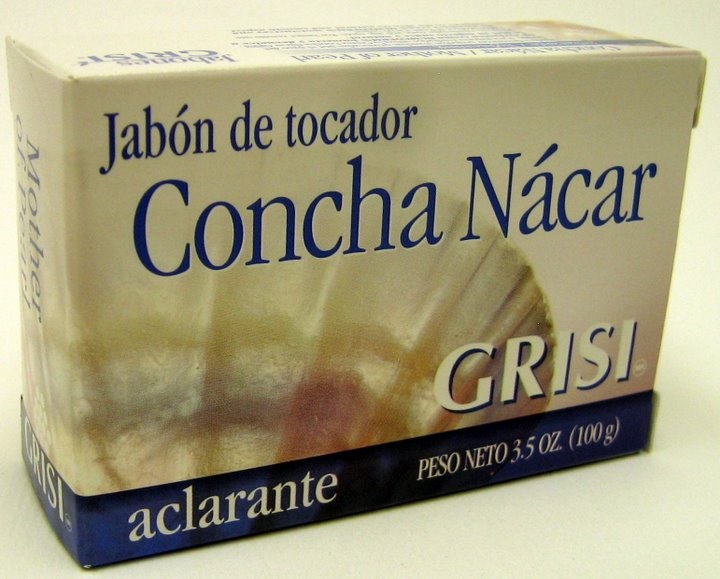 Picture of GRISI Concha Nacar - Mother of Pearl Bar Soap 3.5 OZ&nbsp;- Item No.&nbsp;47555
