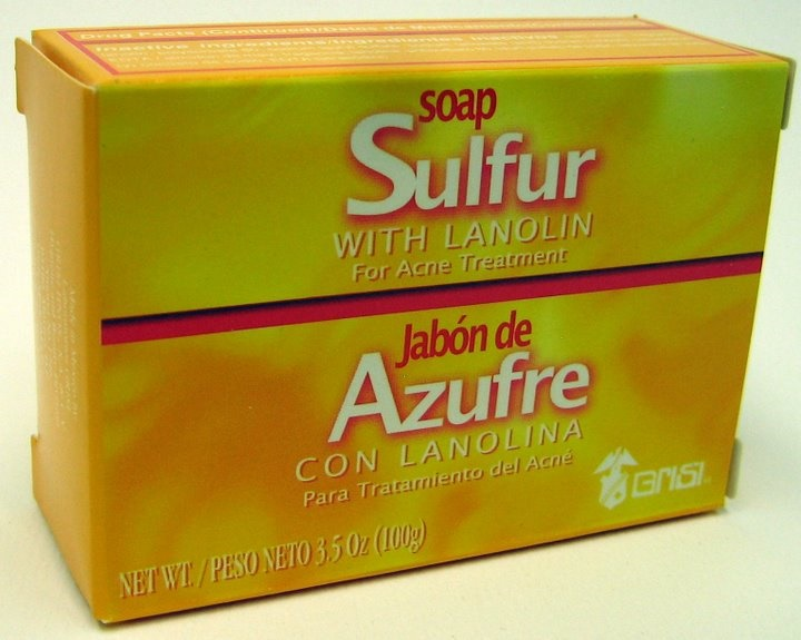 Picture of GRISI Azufre - Sulfur with Lanolin Bar Soap 4.4 OZ&nbsp;- Item No.&nbsp;47560