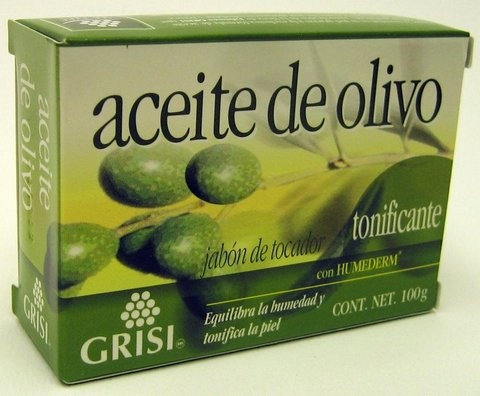 Picture of GRISI Aceite de Olivo - Olive Oil Bar Soap 3.5 OZ&nbsp;- Item No.&nbsp;47563