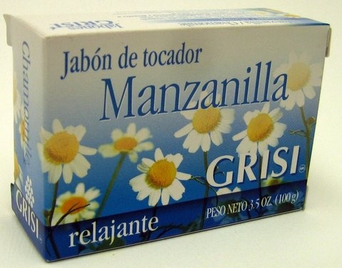 Picture of GRISI Manzanilla - Chamomile Bar Soap 3.5 OZ&nbsp;- Item No.&nbsp;47571