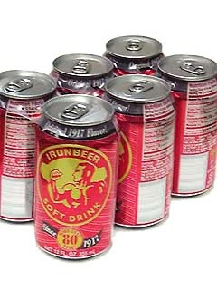 Picture of Ironbeer Soda 6/12 oz. - Item No. 4765