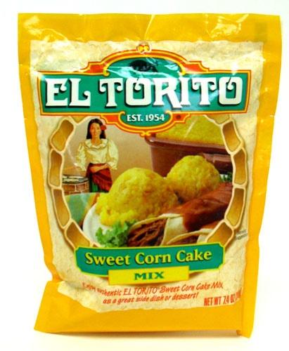 Picture of EL TORITO Sweet Corn Cake Mix 7.4 oz- Item No.47674-12764