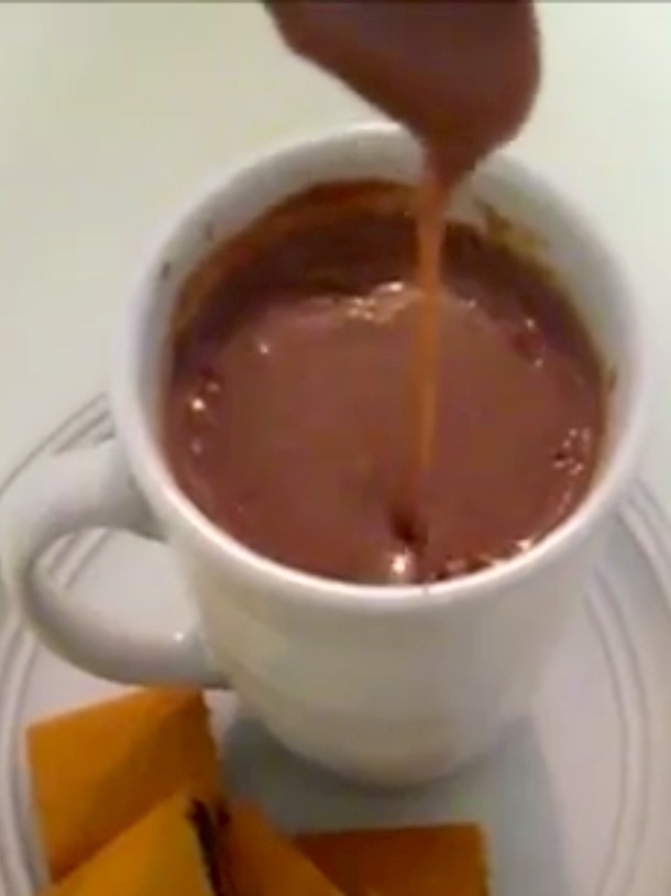 Picture of Mexican Hot Chocolate Champurrado - Item No. 483-mexican-hot-chocolate-champurrado