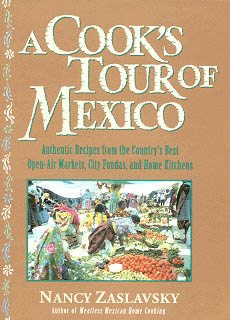 Picture of A Cook's Tour of Mexico by Nancy Zaslavsky&nbsp;- Item No.&nbsp;50017
