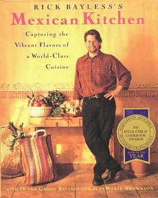 Picture of Rick Bayless Mexican Cookbook - Mexican Kitchen by Rick Bayless - Item No. 50025