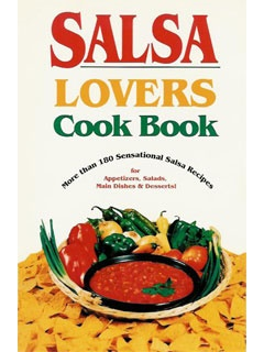 Picture of Salsa Lovers Cook Book by Susan K. Bollin&nbsp;- Item No.&nbsp;50031