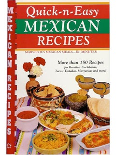 Picture of Mexican Recipes - Quick-n-Easy Mexican Recipes by Susan Bollin - Item No. 50034