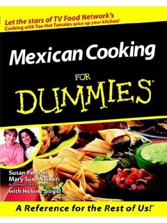 Picture of Mexican Cooking For Dumies by Feniger and Milliken - Item No. 50036