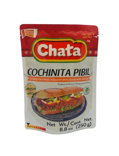 Picture of Cochinita Pibil in Pouch by Chata 8.8 oz- Item No.501023-535041