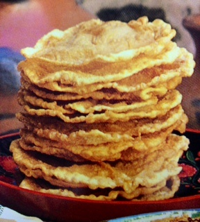 Picture of Bunuelos or Bu�uelos - Mexican Recipe - Item No. 502-bunuelos-bunuelos
