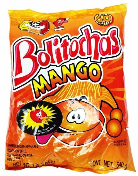 Picture of Bolitochas Mango (19.04 oz.)  60 Pieces - Item No. 502225-961973