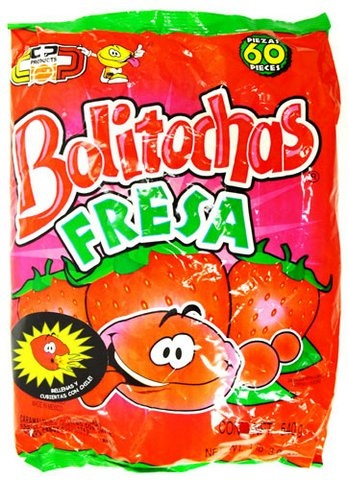 Picture of Bolitochas Fresa (19.04 oz.) 60 pieces&nbsp;- Item No.&nbsp;502225-962598