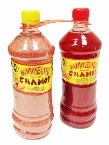 Picture of Miguelito Powder & Chamoy (980g & 980 ml) - Pack of 2 - Item No. 503001-951691