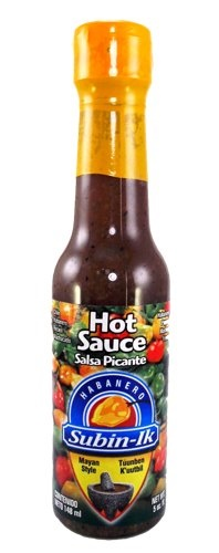 Picture of Orange Habanero Hot Sauce by Subin-Ik - Item No. 503012-873011