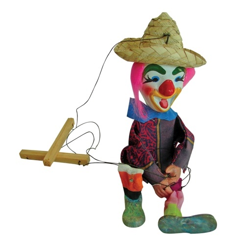 Picture of Mexican Puppet - Titere  - Item No. 50409-87114