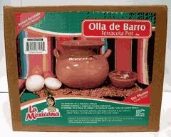 Picture of Olla de Barro Bola #3 - Sin Plomo / Lead Free Clay Bean Pot #3 - Item No. 50409-87160
