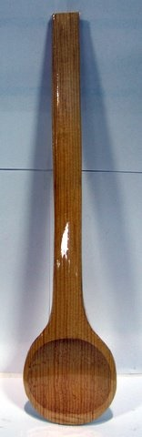 "Picture of Cuchara de Madera Grande #3 / Wooden Spoon Large #3 - 17"" Long - Item No. 50409-87182"