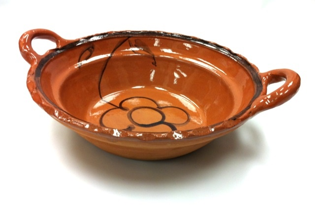 Picture of Cazuela de Barro sin Plomo - Lead Free Clay Casserole 3.4 qt - Item No. 50409-87202