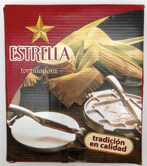 "Picture of Tortilla Press Cast Iron / Tortilladora 7"" by La Mexicana - Item No. 50409-87310"
