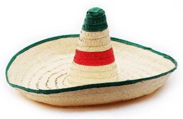 Picture of Sombrero Zapata - Large Hat Mexican Sombrero - 28