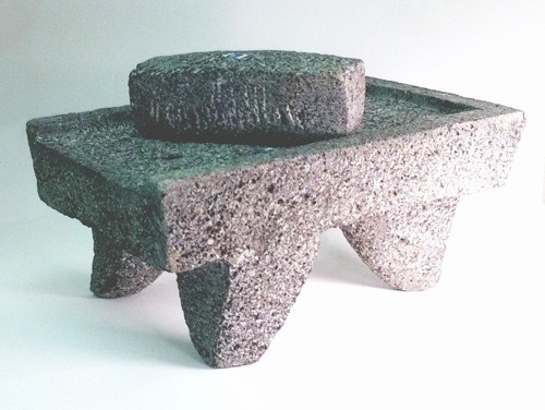 Picture of Metate y Mano Mortar and Ground Stone&nbsp;- Item No.&nbsp;50409-89732