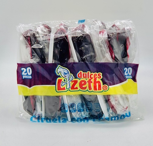 Picture of Cuchara Lizeth Mango Natural con Chile 20 pieces&nbsp;- Item No.&nbsp;51386-01124