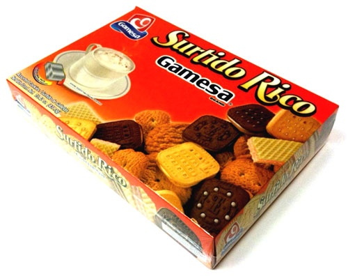 Picture of Gamesa Surtido Rico Assorted Cookies 15.42 oz. - Item No. 5161