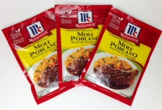 Picture of Mole Poblano Sauce Mix by McCormick - Item No. 52100-01824