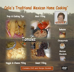 Picture of Celia's Traditional Mexican Home Cooking: Tamales - Item No. 531526