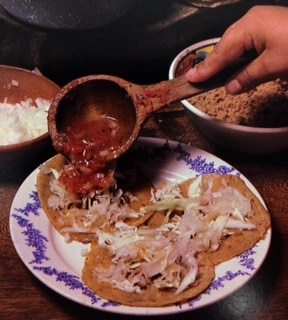 Picture of Sopitos - Sopes - Thick tortillas with raised edges Mexican Recipe- Item No.537-sopitos---little-sopes