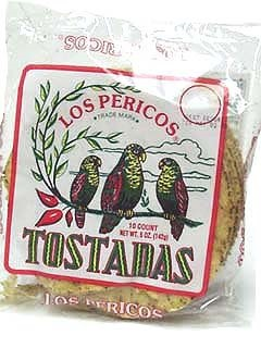 Picture of Tostadas - Mexican Tostadas Los Pericos 5 oz. - Item No. 5370