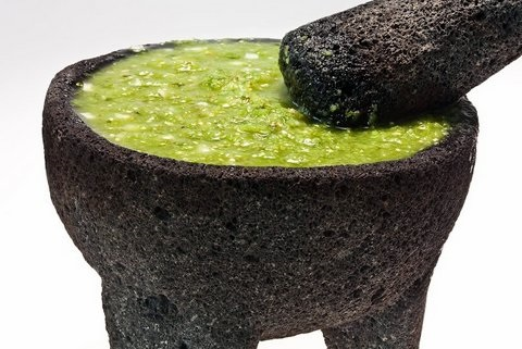 Picture of Molcajete - Julieta's How to Cure a Molcajete Recipe - Item No. 538-julieta-s-molcajete-cure-recipe